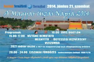 Bonyhádi Termálfürdő - magyar úszás napja 2014